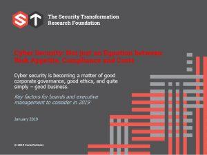 cyber security ESG